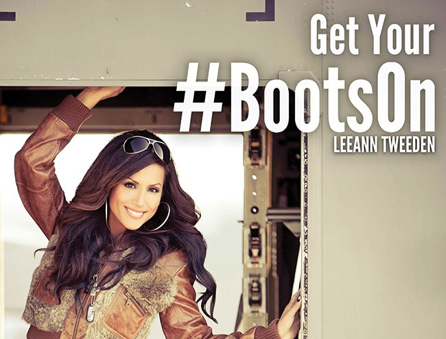 Boot Campaign and Leeann Tweeden