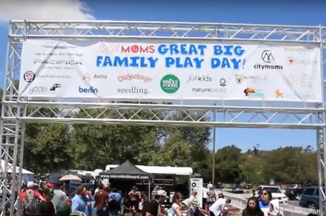 The 2016 Great Big Family Play Day
