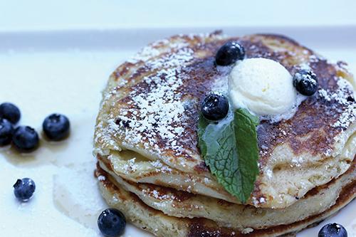 Bel Air Grill Pancakes