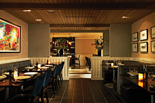 Bel Air Grill dining room
