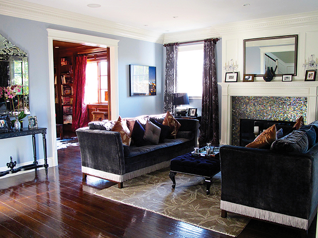 Nicole Cannon livingroom