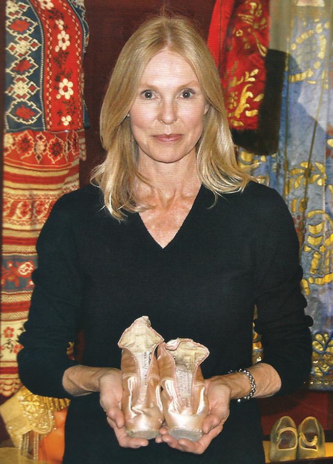 Irina Baranova toe shoes