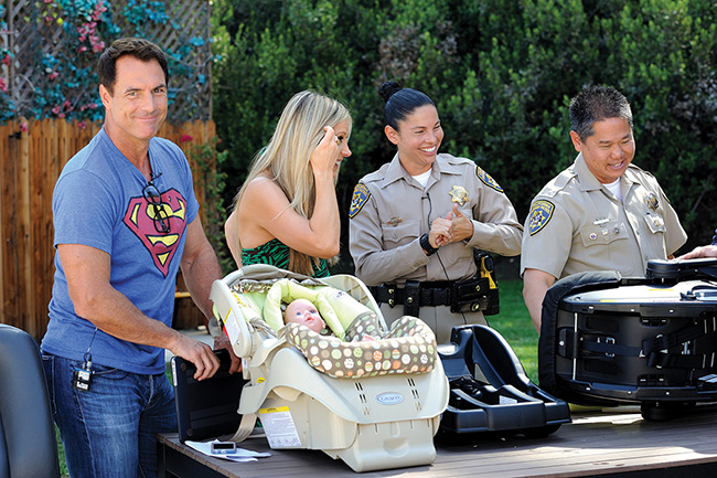 Mark Steines carseat