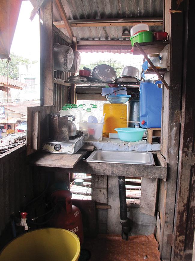 Philippines kitchen