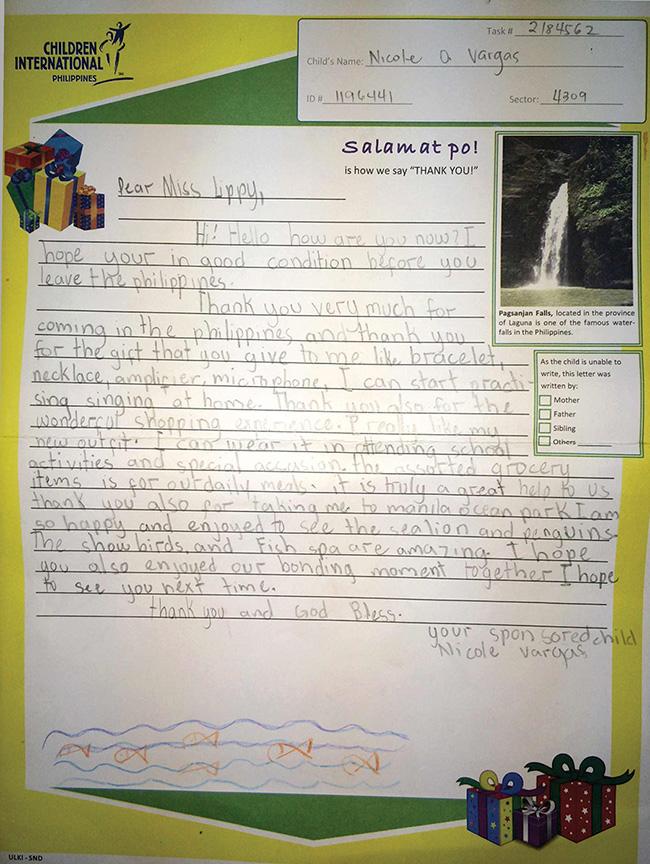 nicoles letter