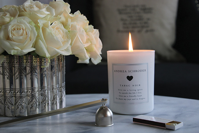 Andrea Schroder candle