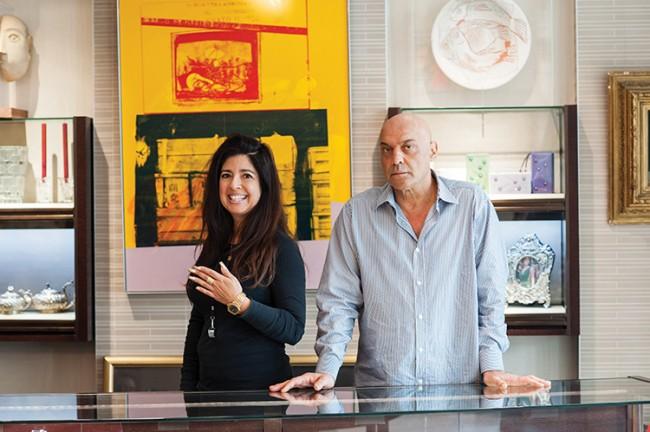 Yossi Dina and Dominique