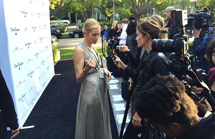 kelly rutherford LA benefit